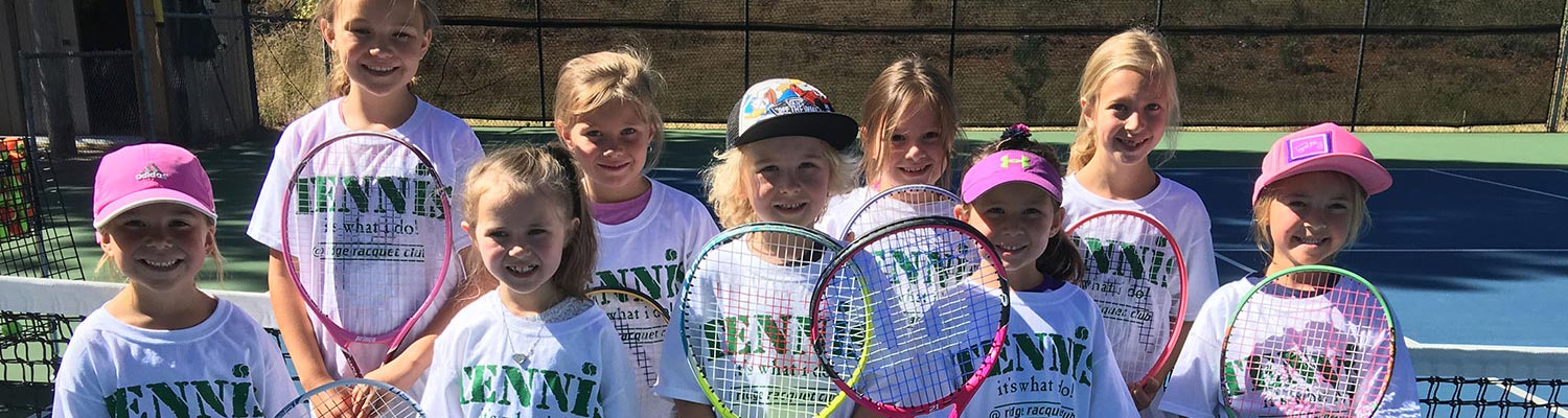 grass valley kids at tennis summer camps